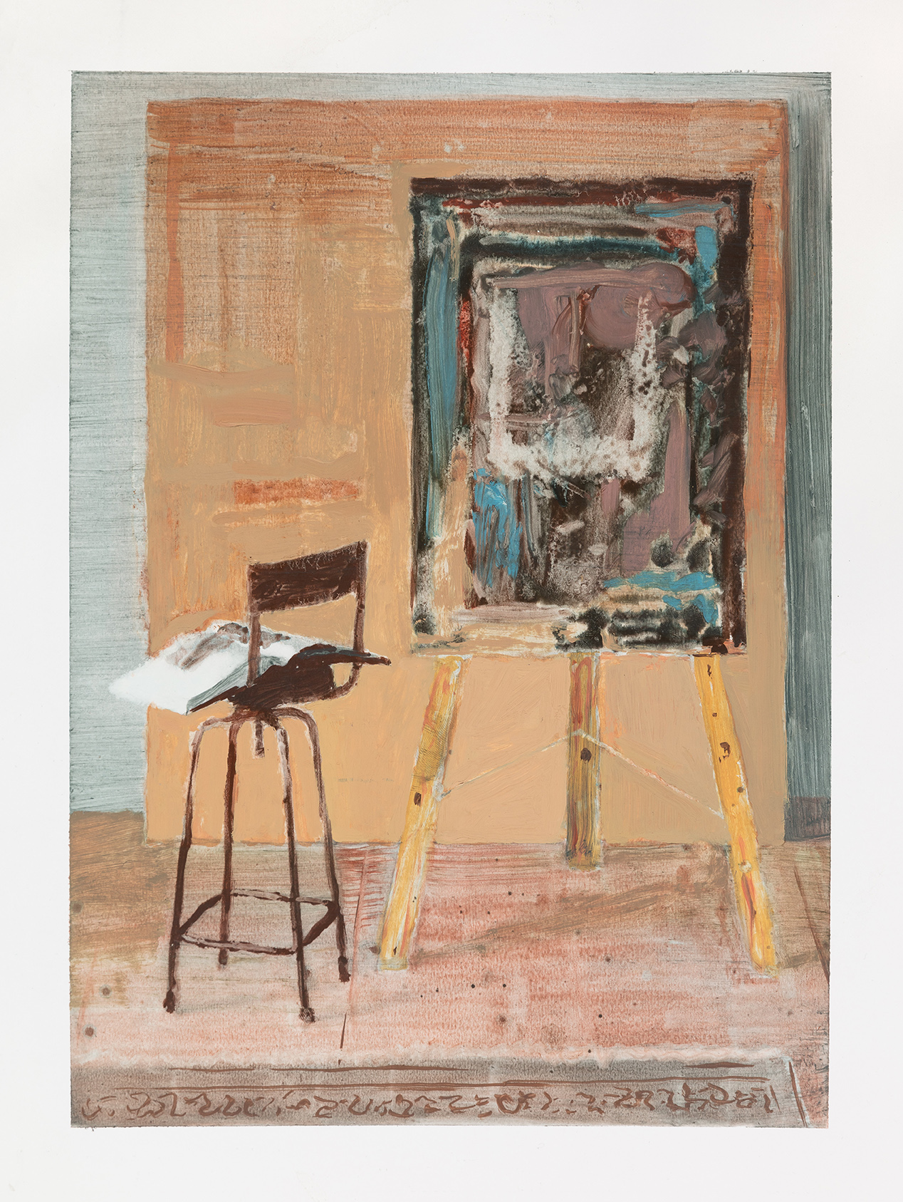 - Painting board with Corot, 2017