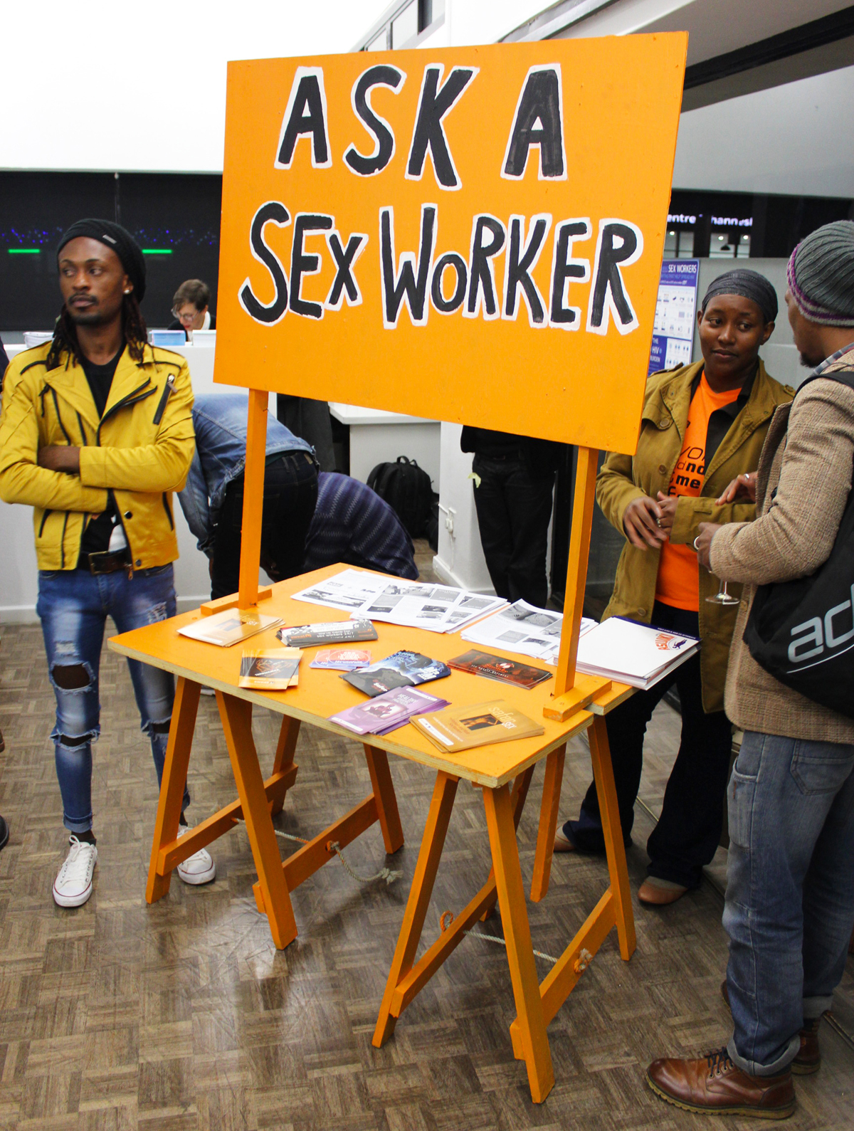 Simon Gush, Sonke Gender Justice, Sisonke Sex Workers Movement and SWEAT - Ask a Sex Worker, 2016