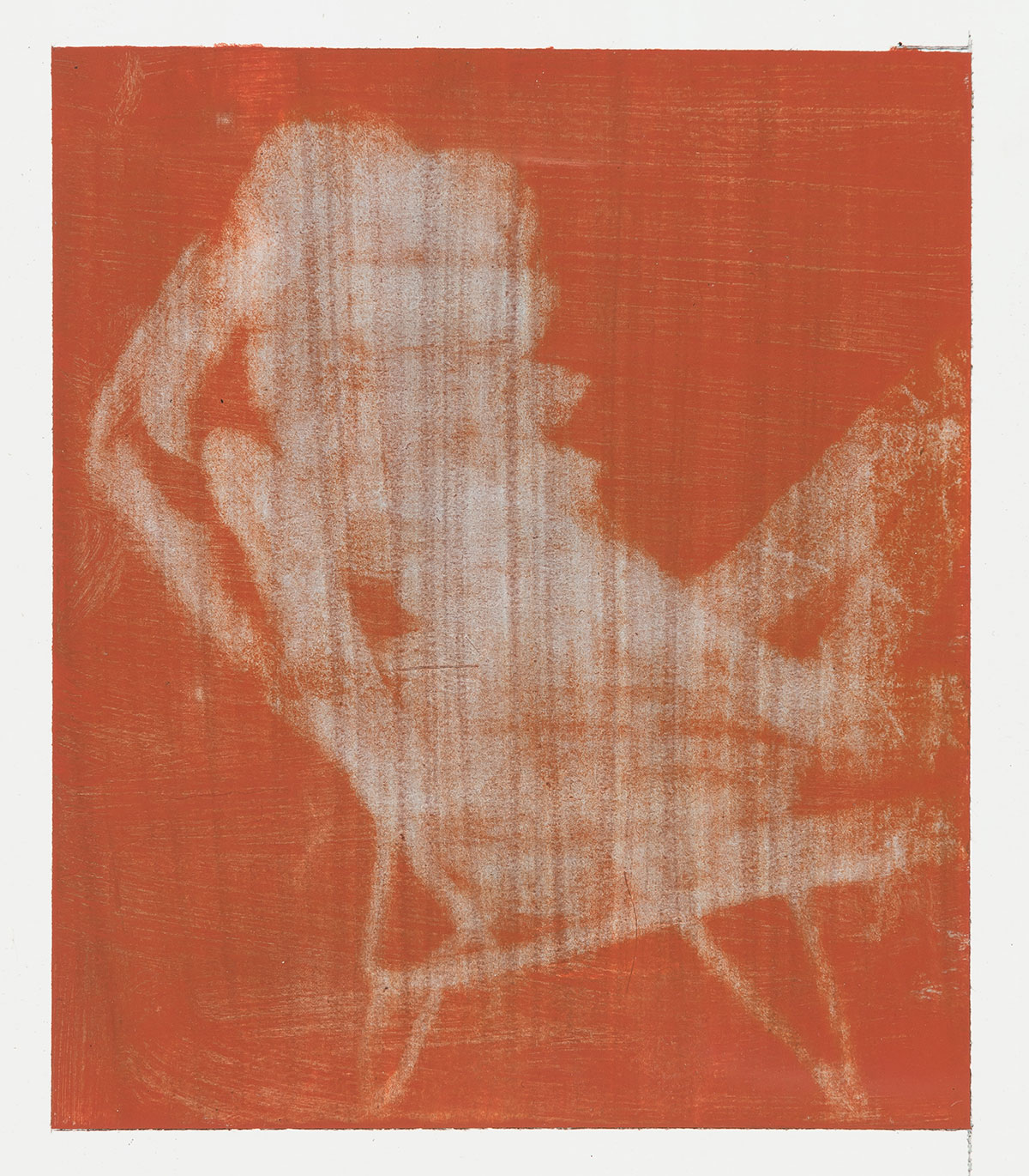 - Red and Grey (Deck Chair), 2017