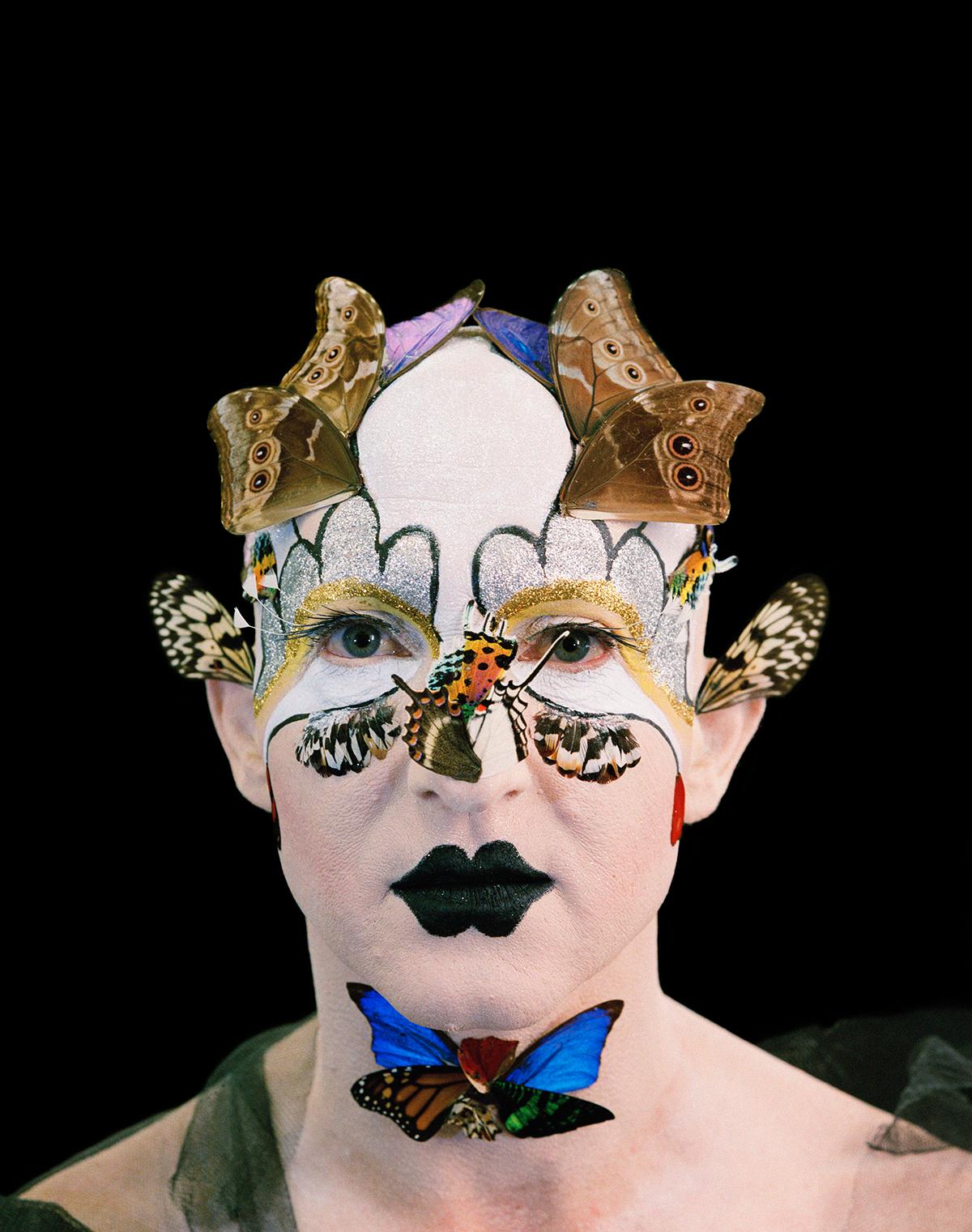 Steven Cohen - Golgotha - Portrait #4, Paris, 2009,