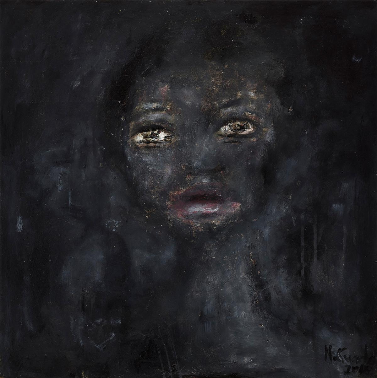 Nelly Guambe - Portrait of Sara Maria, 2018