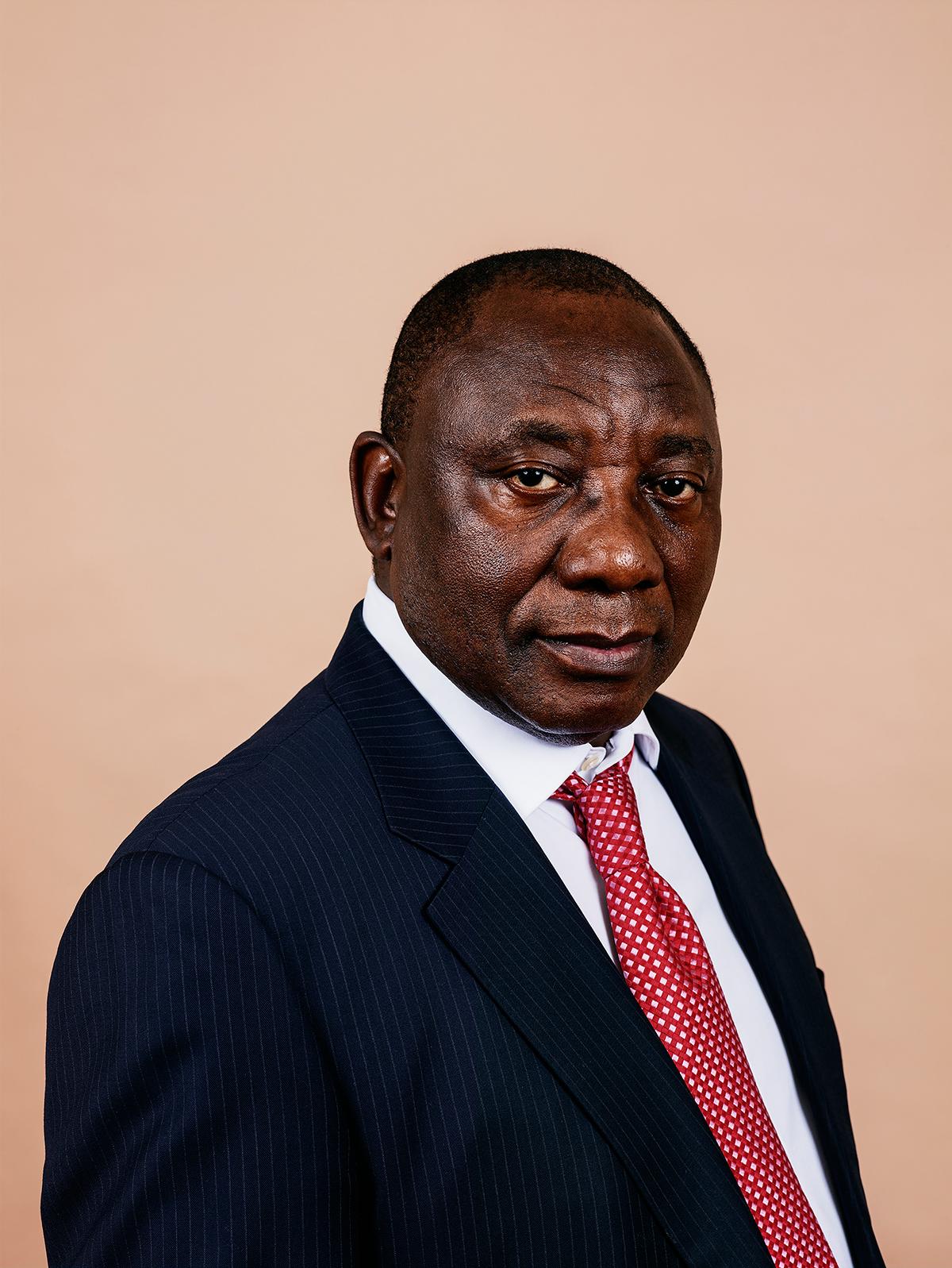 Pieter Hugo - Cyril Ramaphosa, Johannesburg, 2012,