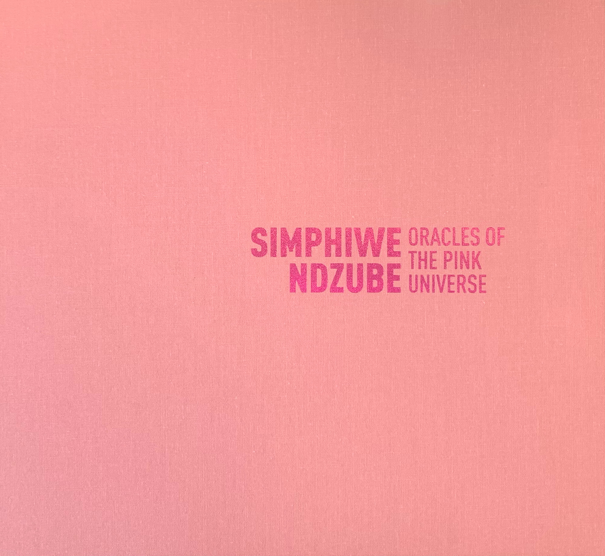 Oracles of the Pink Universe