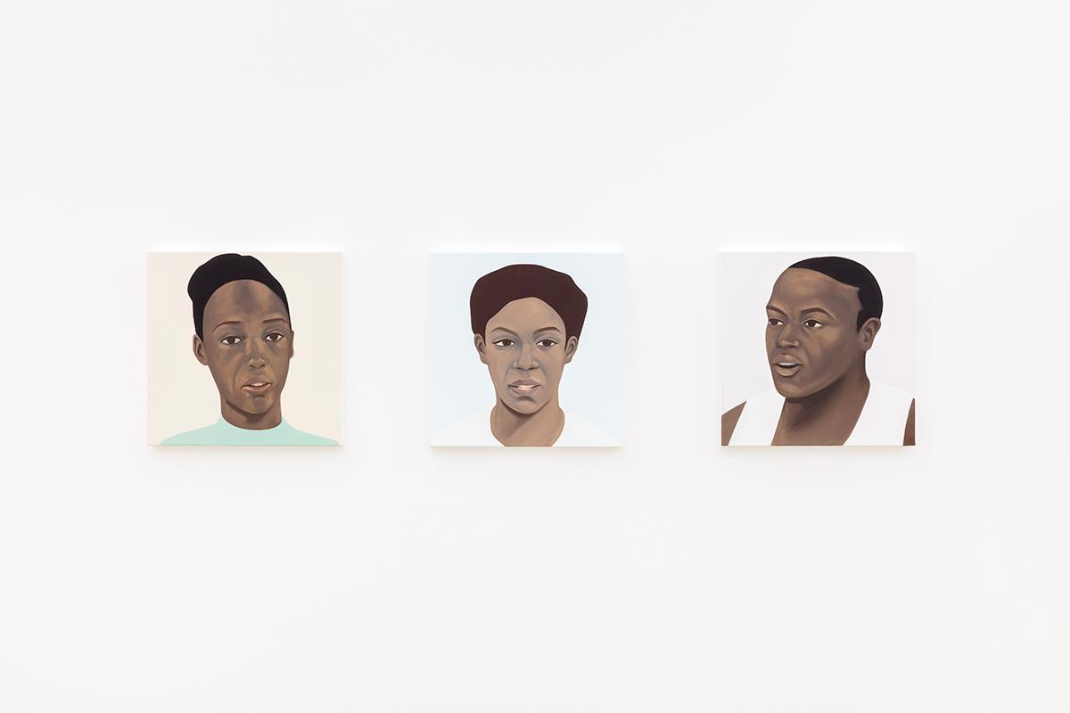 Installation view with works by Thenjiwe Niki Nkosi