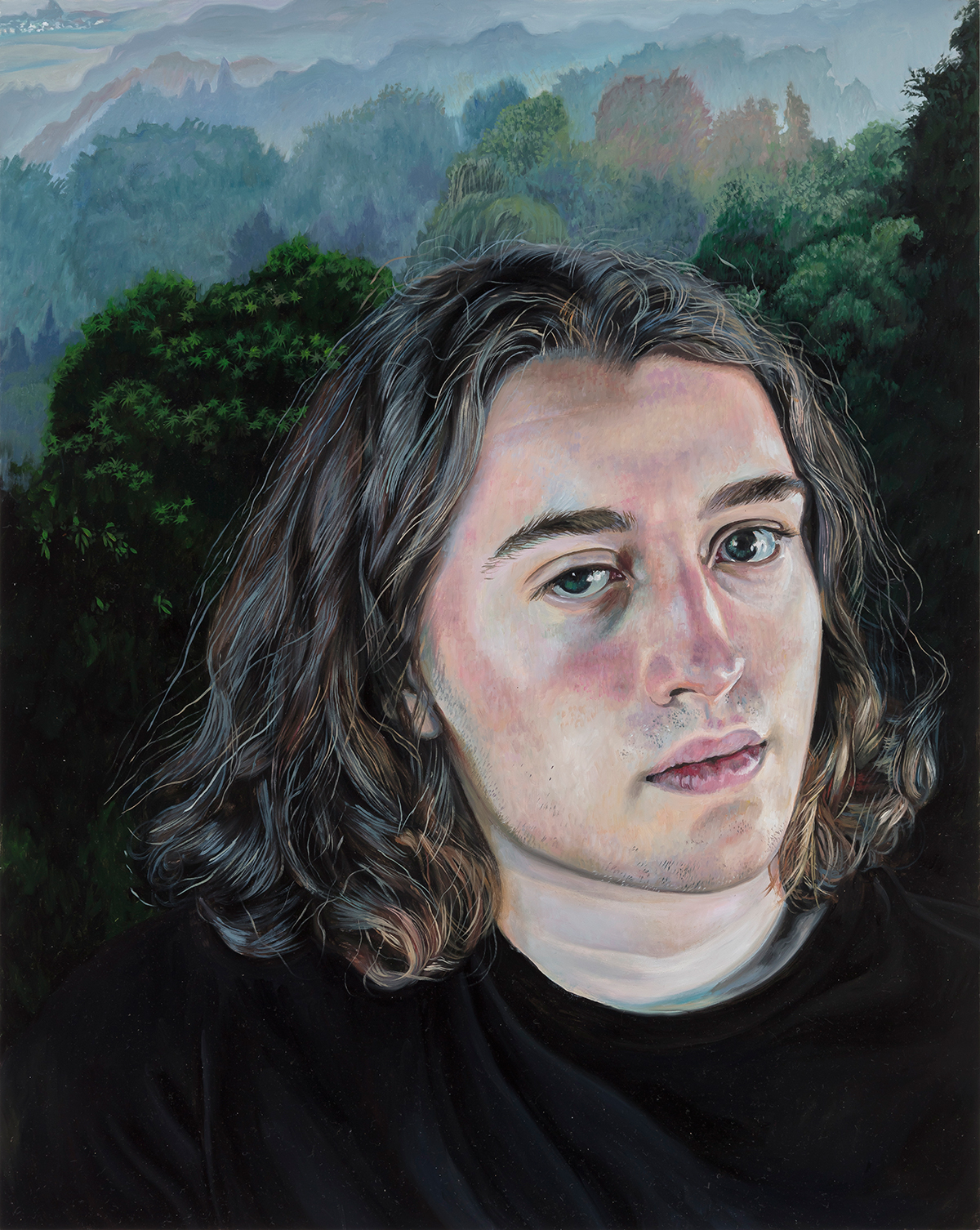 Deborah Poynton - Portrait of a Model 3, 2018