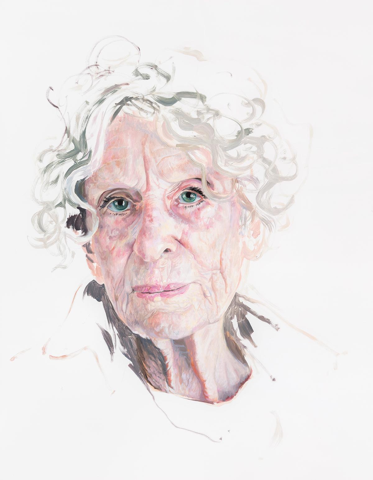 Deborah Poynton - Portrait of a Model 4, 2018