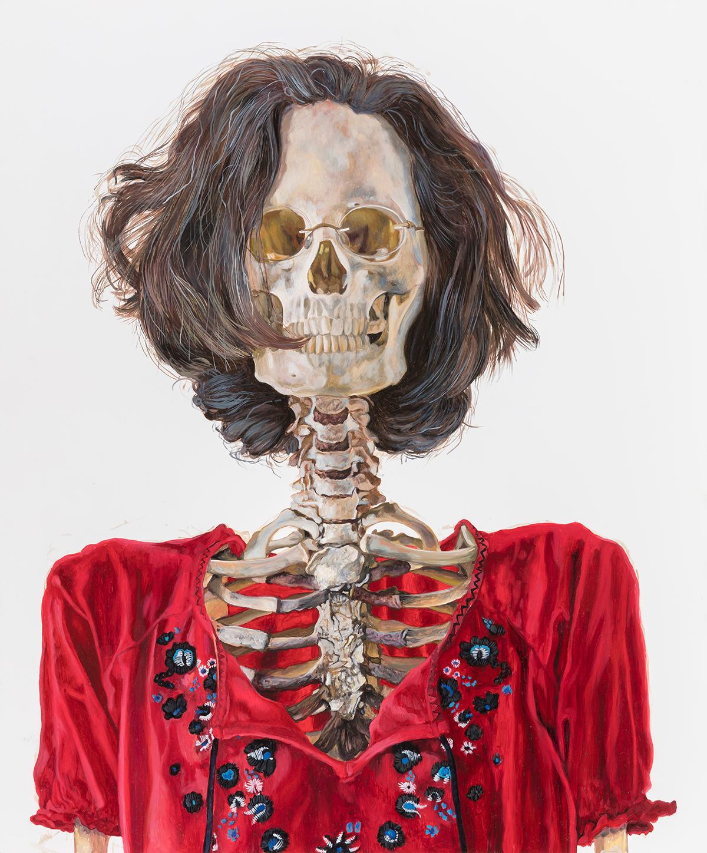 Deborah Poynton - Self-portrait, 2018