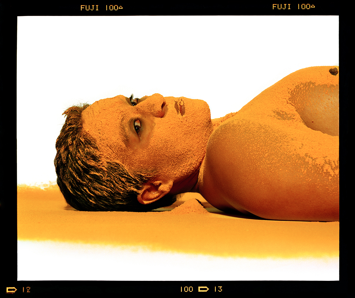 Berni Searle - Colour Me, 1998