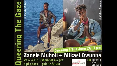 Zanele Muholi at Alpha Nova and Futura