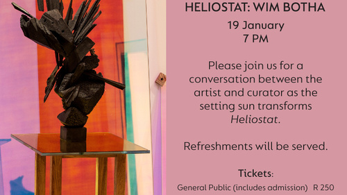 Heliostat closing at the Norval Foundation