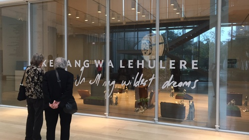 Wa Lehulere's first US museum show