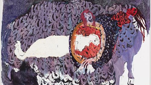 Portia Zvavahera at Modern Art
