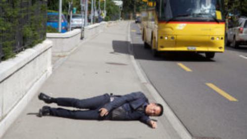 Robin Rhode in The Street, MAXXI