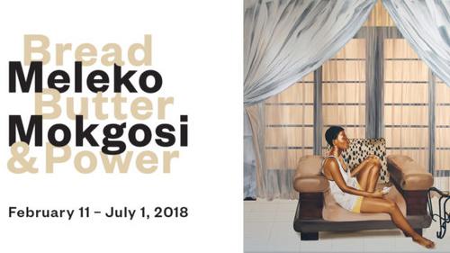 Meleko Mokgosi at the Fowler Museum