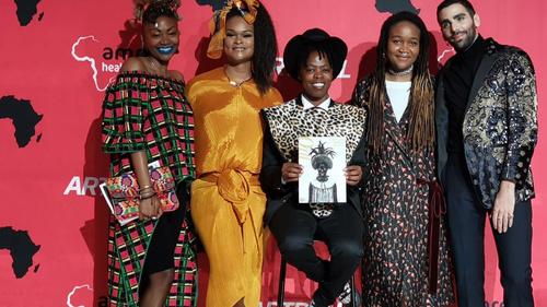 Muholi receives the Rees Visionary Award