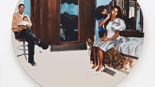 Meleko Mokgosi at Rochester Contemporary Art Center