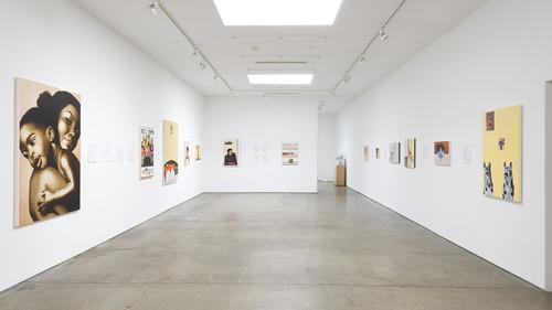 Meleko opening at Honor Fraser Gallery