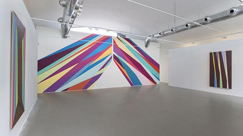 Odili Donald Odita solo exhibition in Milan