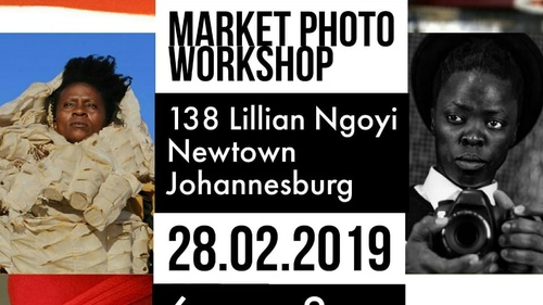 Zanele Muholi and Berni Searle at the Market Photo Workshop