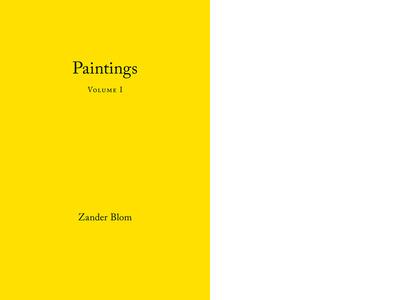 Paintings Volume I