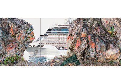 The Human Abstract: Ship Triptych