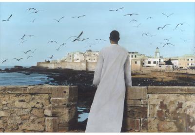 Self-portrait, Essaouira, 2011