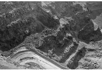 Letseng diamond mine open-pit, Mokhotlong