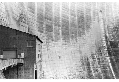 Katse Dam wall, Thaba-Tseka