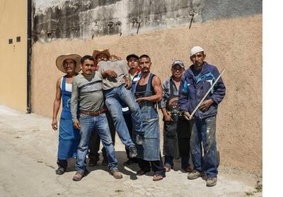 After Siqueiros. Oaxaca de Juárez, 2018