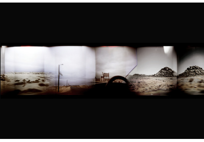Installation view, Something this way comes (film)