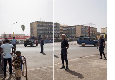 Boulevard du Général de Gaulle, Dakar, 2017