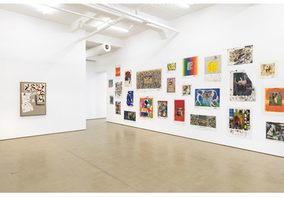 Installation view, Modern Painting (Museum Posters)
