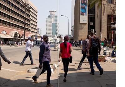Jason Moyo Avenue, Harare, 2016