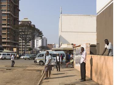 Leopold Takawira Street, Harare, 2016