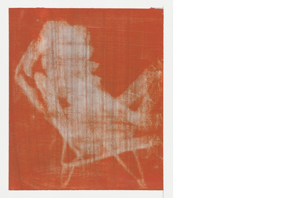 Red and Grey (Deck Chair)