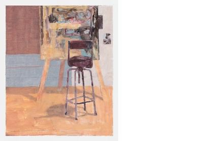 Studio with Turquoise Shadow