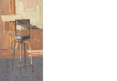 Studio with Blue Floor