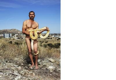 The snake charmer. Hermosillo, 2019