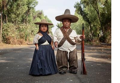 Zapata and Adelita. Mexico City, 2019