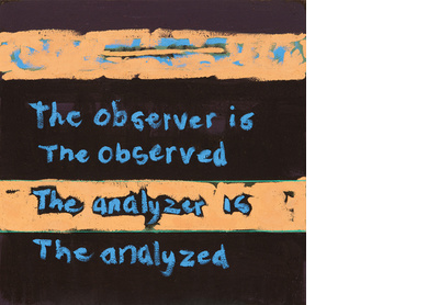 The observer is the observed The analyzer is the analyzed