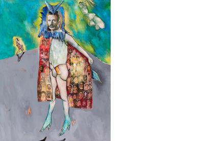 Autoportrait avec cape de Fatoum