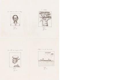 Four Gorée sketches