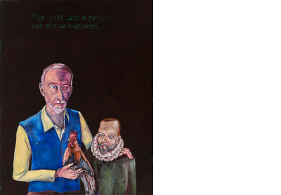 The late self: Don Quixote y M de Cervantes Saavedra
