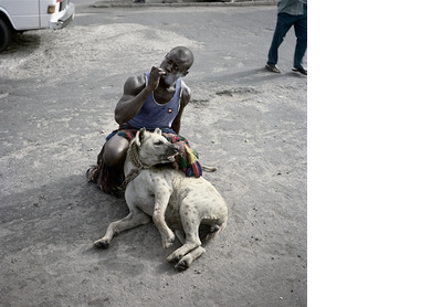 Abdullahi Mohammed with Mainasara, Lagos, Nigeria, 2007