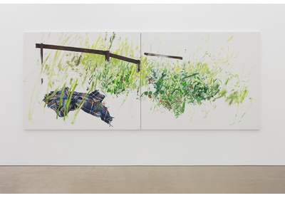 Installation view of Picnic