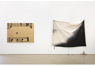 18.04 Installation view with works by Kemang Wa Lehulere and Alexandra Karakashian