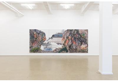 06.03 Installation view with work by Deborah Poynton