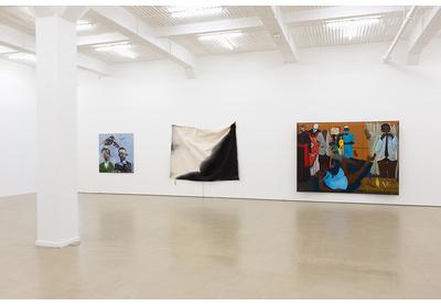 25.03 Installation view with works by Breyten Breytenbach, Alexandra Karakashian and Richard Mudariki