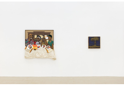 29.03 Installation view with works by Dada Khanyisa and Mawande Ka Zenzile