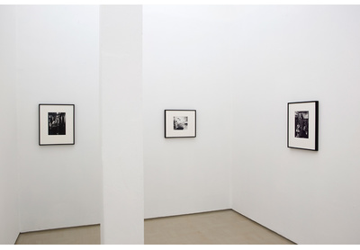 Installation view of photomontages by Jane Alexander, Stevenson, Cape Town
